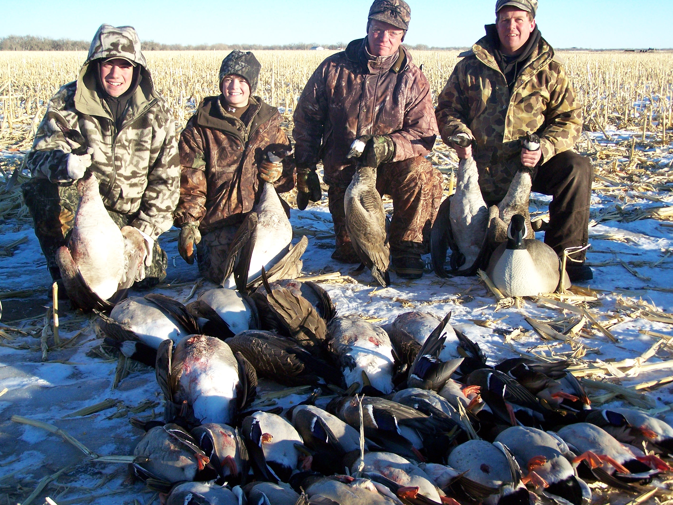 duck and goose hunting
