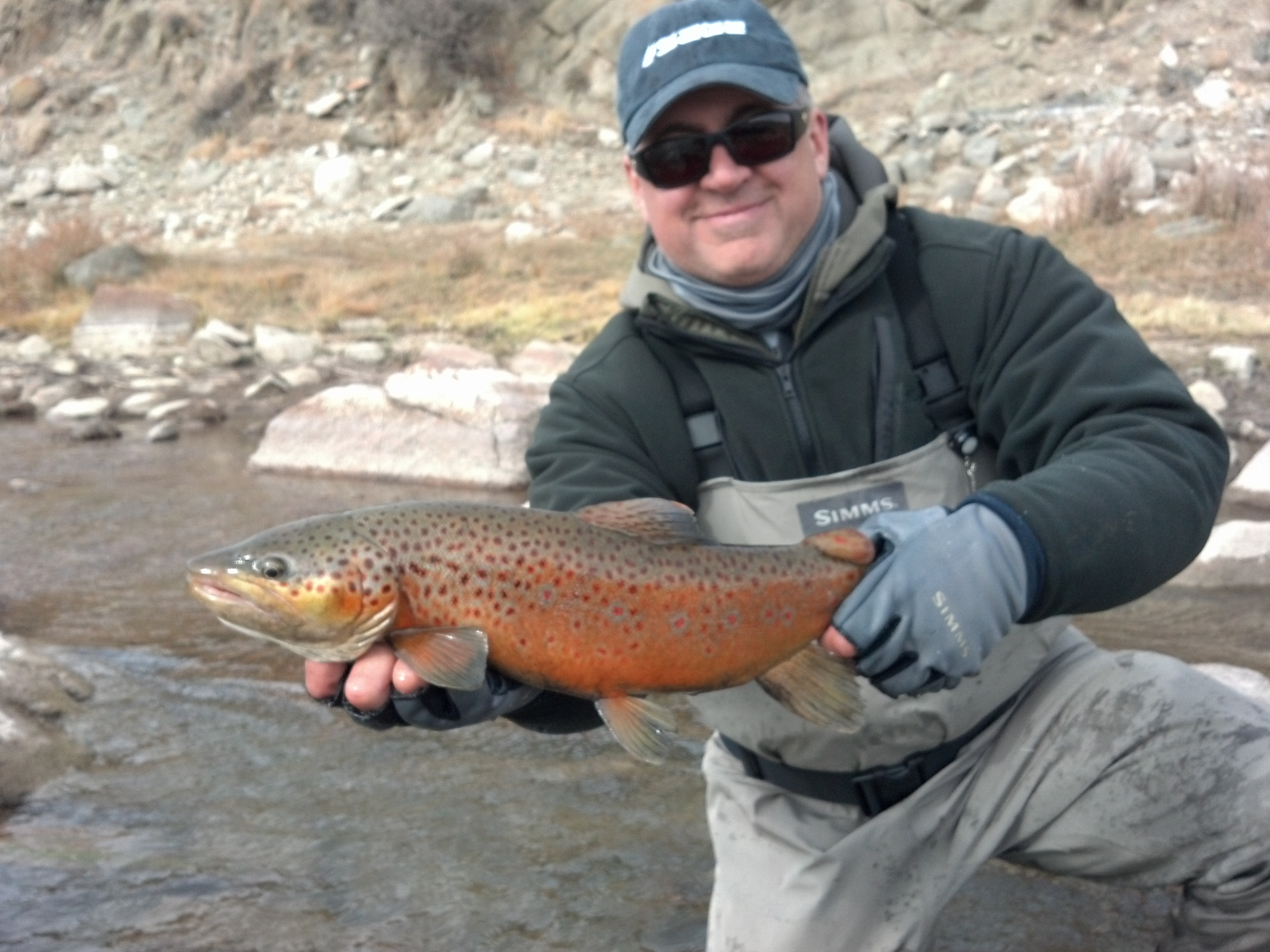 fly fishing for trout and bird hunting in one day